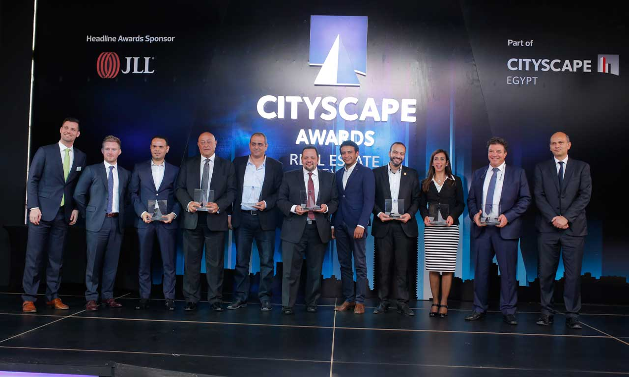 Developers, architects and industry professionals were celebrated at last night's Cityscape Egypt Awards